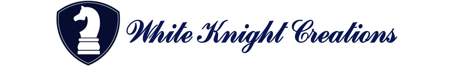 White Knight Creations Logo And Name